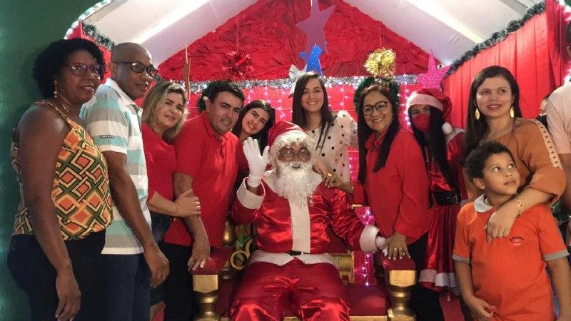 Luzes de Natal encanta o público em Bacabal