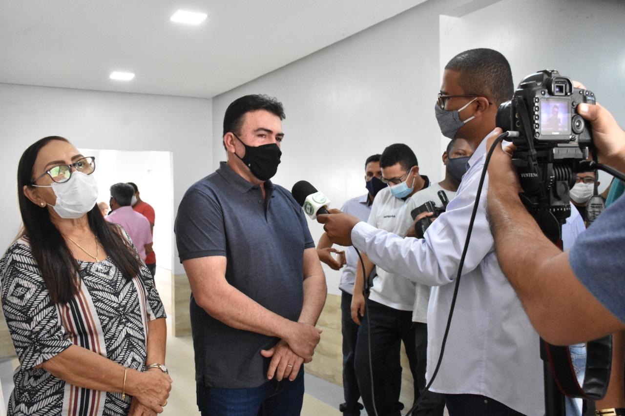 Prefeito de Bacabal faz visita de inspeção no novo Hospital Geral