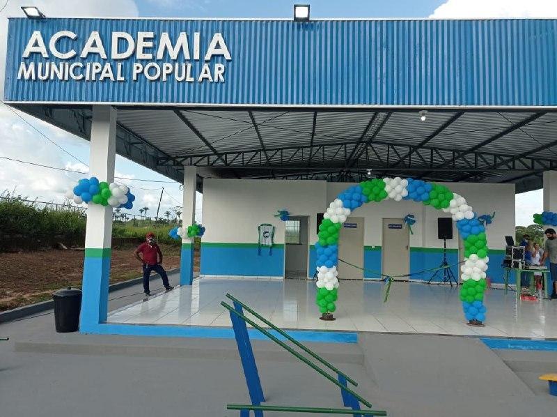 Inaugurada a Academia Municipal Popular Walber Pinto do povoado Brejinho
