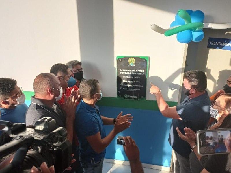 Inaugurada a Academia Popular Walber Pinto do distrito de Brejinho