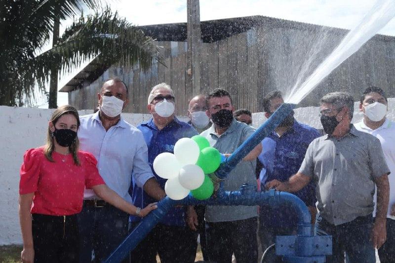 Prefeitura de Bacabal inaugura poços tubulares nos bairros Cohab I, Santos Dumont e Parque Santa Clara