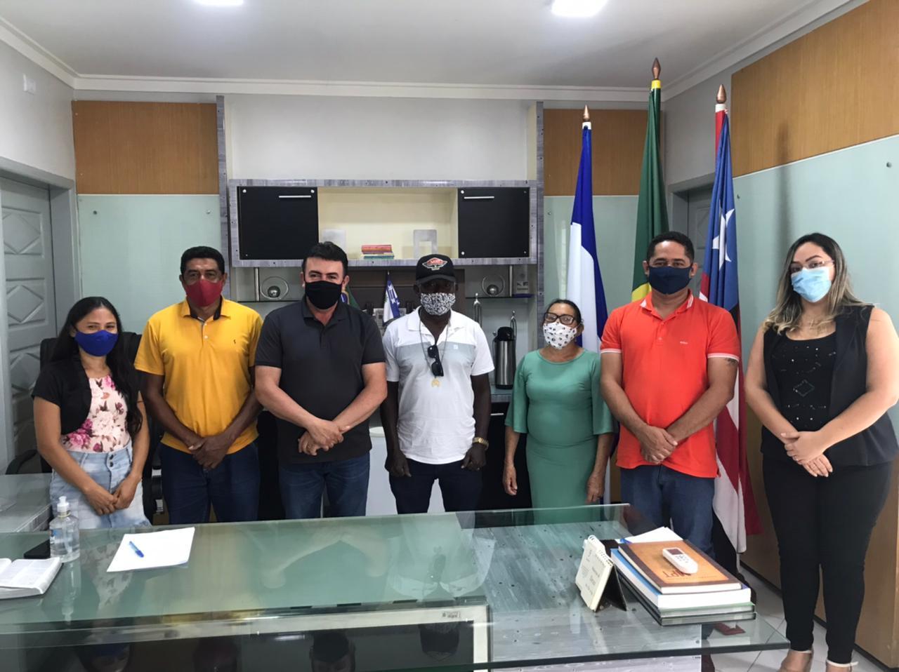 Prefeito Edvan Brandão garante apoio para catadores de material reciclável de Bacabal