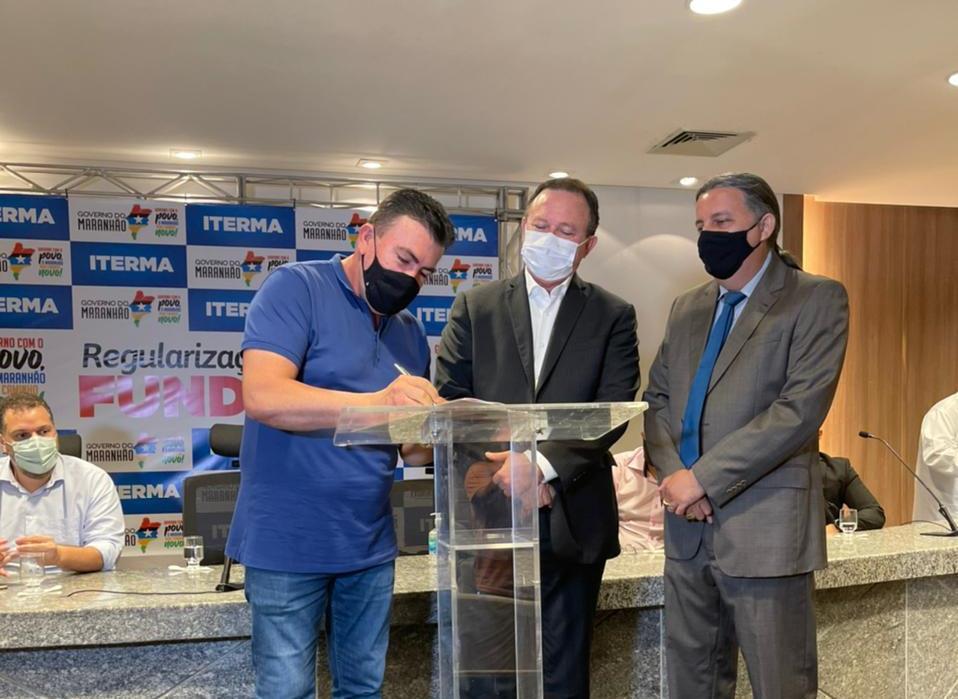 Prefeito de Bacabal assina termo de cooperação técnica que vai beneficiar pequenos agricultores