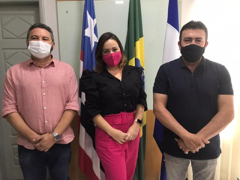 Prefeito de Bacabal reúne com secretário estadual do Trabalho para reafirmar parceria