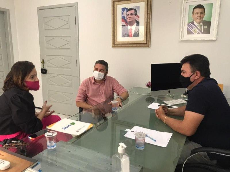 Prefeito de Bacabal reúne com secretário estadual do Trabalho e fortalece parceria