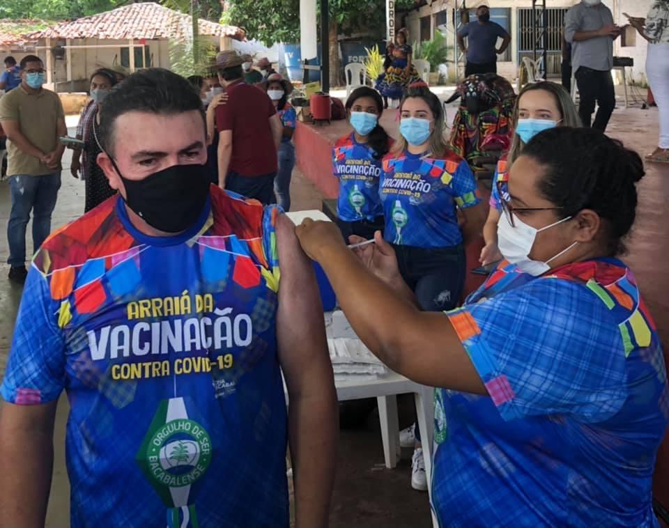 Em Bacabal vacinação já chegou na faixa dos 20 anos