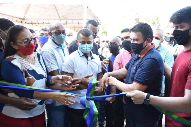 Feito histórico: Prefeitura de Bacabal inaugura UBS na comunidade remanescente quilombola de Piratininga
