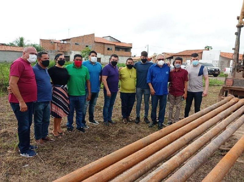 Prefeitura de Bacabal inicia perfuração de poço no Parque São José Operário