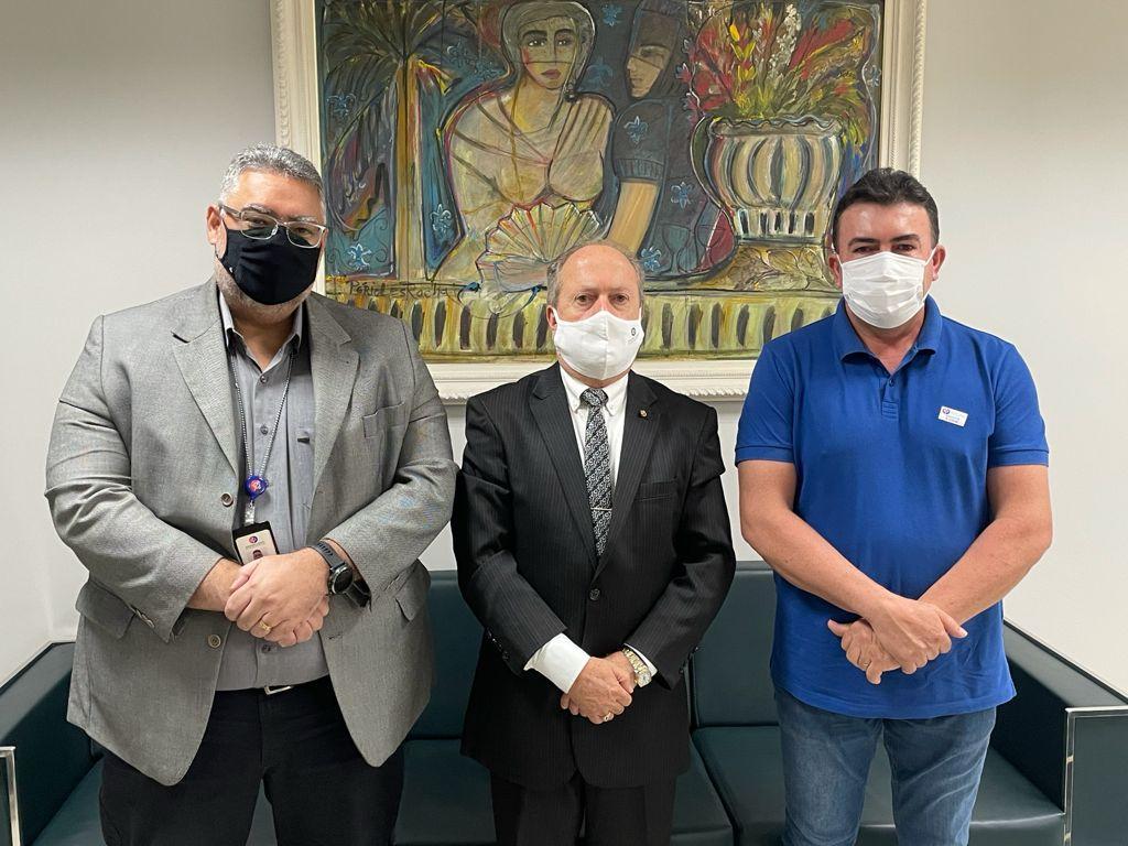Prefeito de Bacabal reúne com o Procurador-geral de justiça