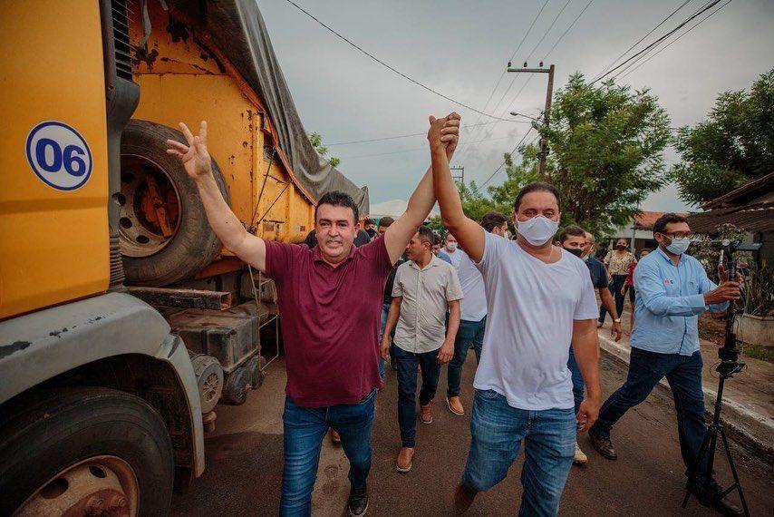 Prefeitura de Bacabal inicia asfaltamento do Terra do Sol com a presença do senador Weverton Rocha