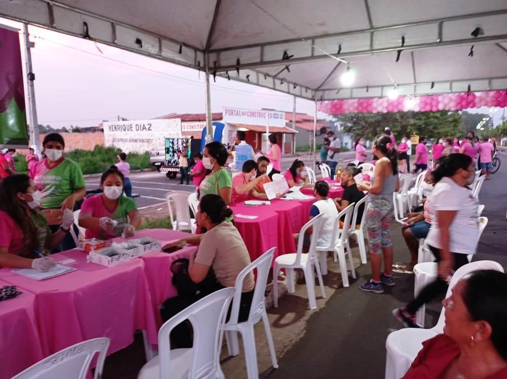 Prefeitura de Bacabal inicia campanha Outubro Rosa