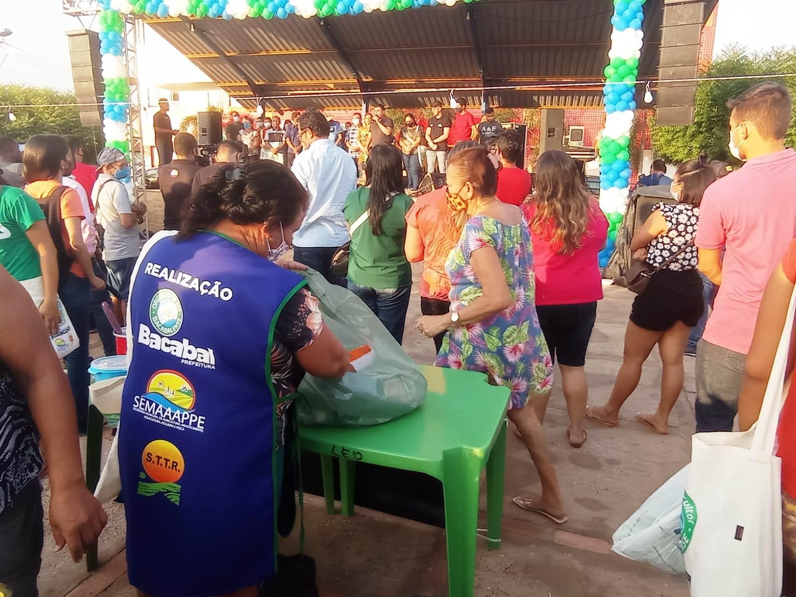 Prefeitura de Bacabal realiza com sucesso a Feira de Agricultura Familiar