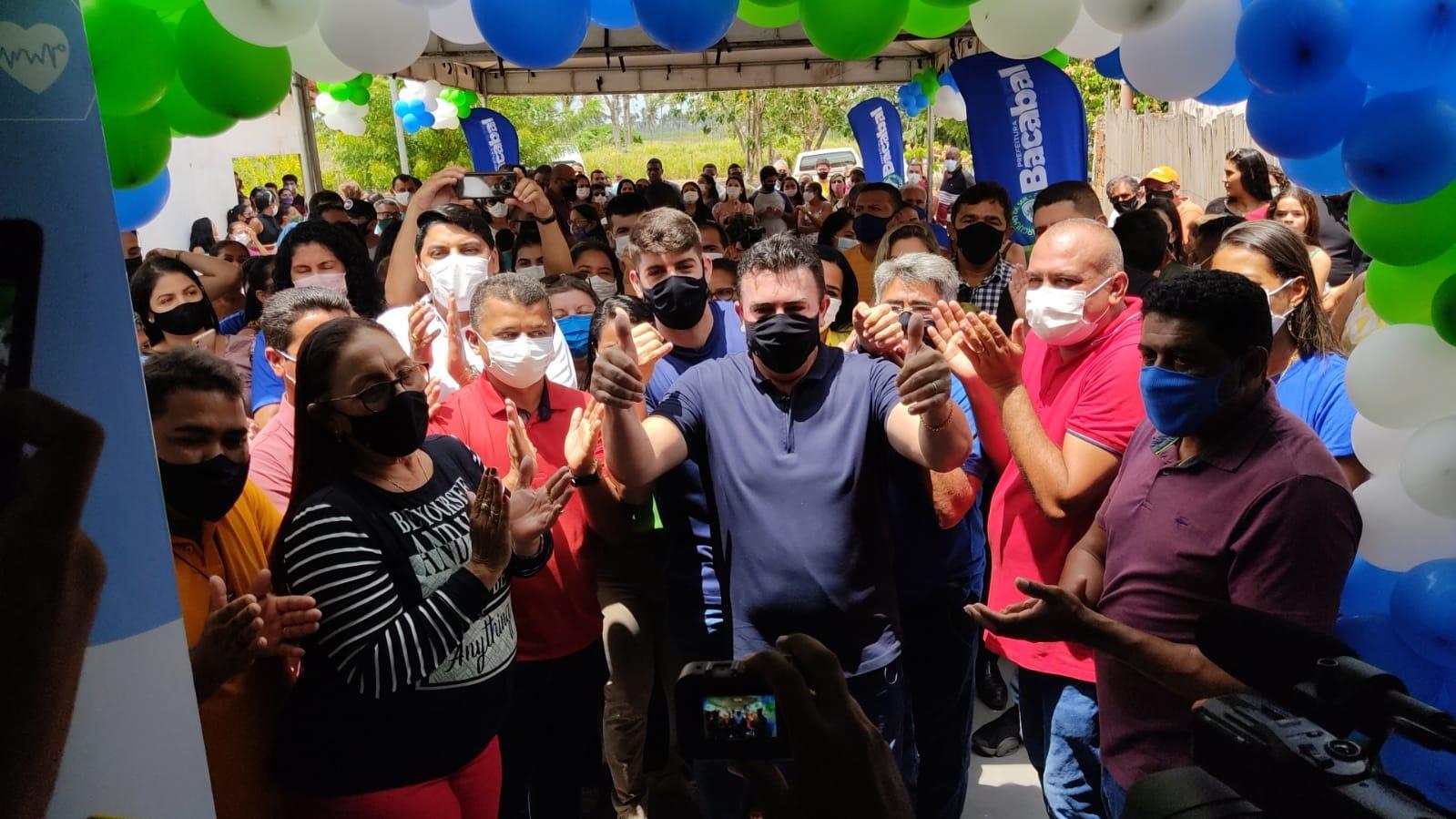 Prefeito Edvan Brandão inaugura Unidade de Saúde do povoado Alto Alegre do Acelino